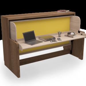 Sklopné postele se stolem