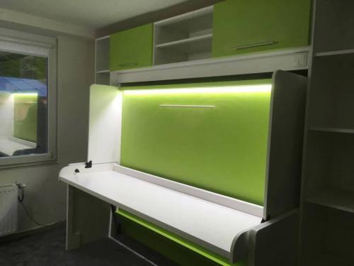 Splendid 90cm - dekor bílá/zelená